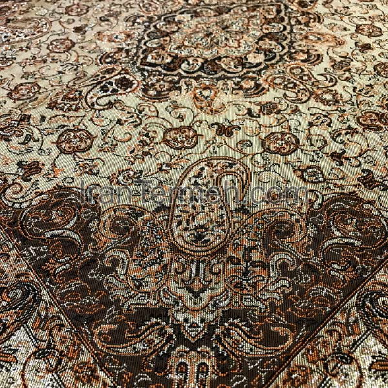 Chehelsotoon Light Brown Tablecloth Size 50 Cm