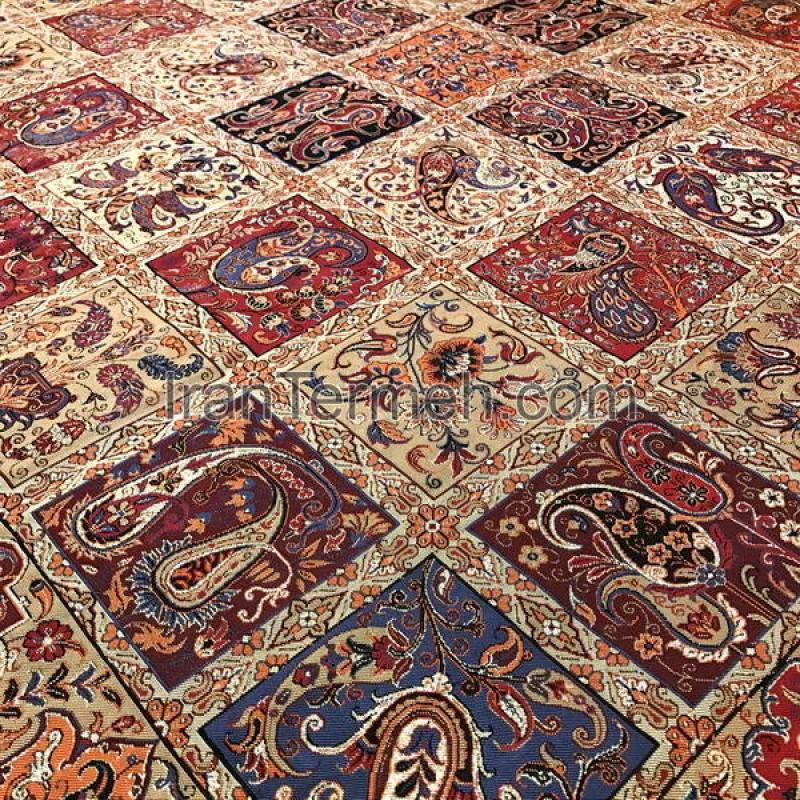 Kheshti Light Brown Tablecloth Size 120 Cm