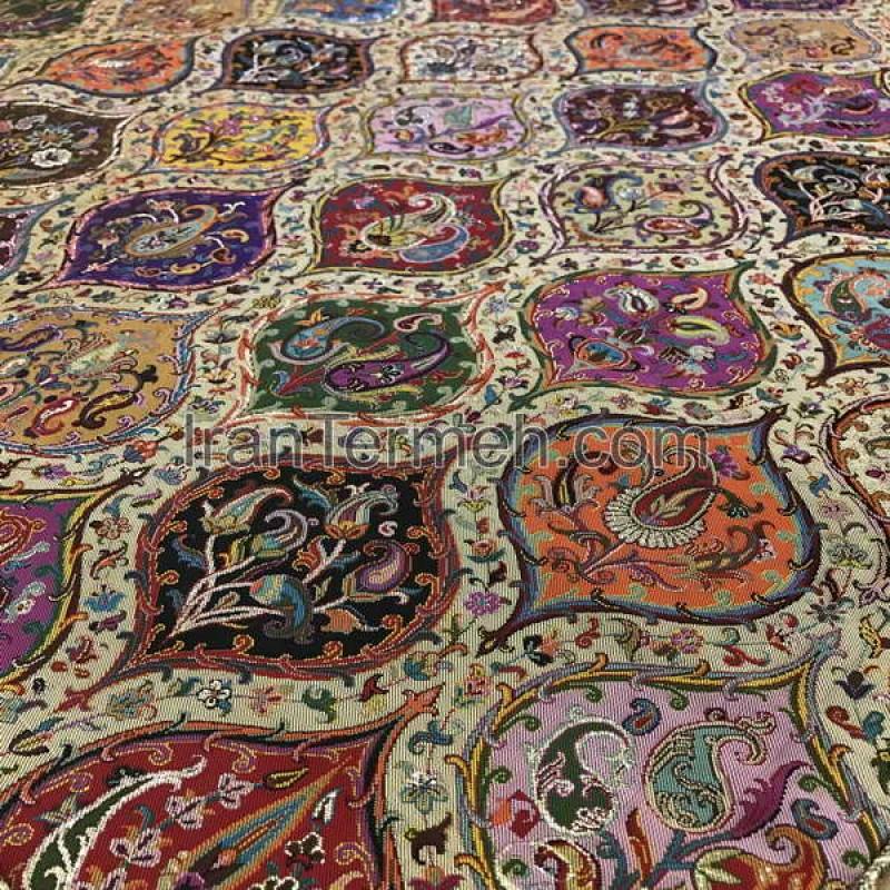 Mojalal Light Brown Tablecloth Size 100 Cm