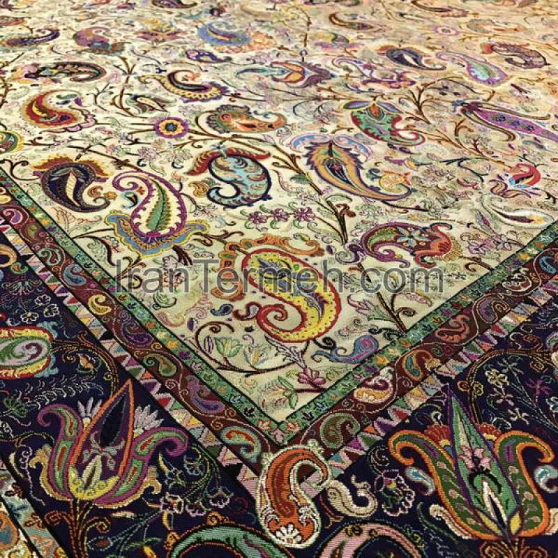 Zandieh Light Brown Tablecloth Size 100 Cm